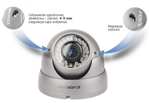 EVX-CD701IR-G Kamera EVERMAX