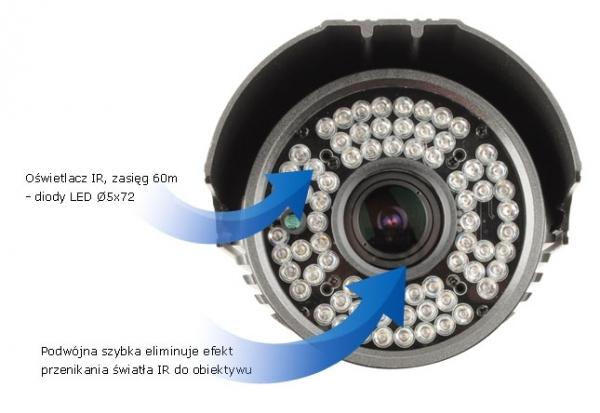 EVX-C704IR-G Kamera grafitowa EVERMAX