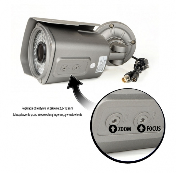 EVX-C714IR Kamera tubowa EVERMAX