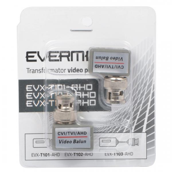 Transormator pasywny EVXT102-AHD EVERMAX - opakowanie